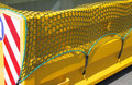 5504004-Container netten/willekeurige maten/PP draaddikte 2,5 mm/maaswijdte 40 mm/kleur: groen