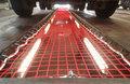 5953006-Veiligheidsnetten voor werkputten/willekeurige maten/draaddikte 5 mm/maaswijdte 60 mm/kleur: rood