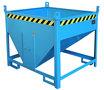 Silocontainer type SGS 50 - ca. 1000x1200x1025 mm (lxbxh)/inhoud ca. 0,50 m³/draagkracht 750 kg/opening 250x250 mm (bxh)/inzameling en lediging van stortgoederen
